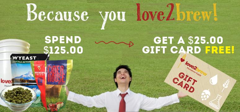 love2brew sale