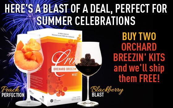 Buy 2 Orchard Breezin' Kits & They Ship Free!