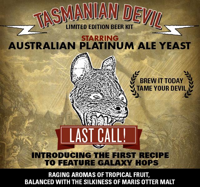 Tasmanian Devil Australian Pale Ale Kit