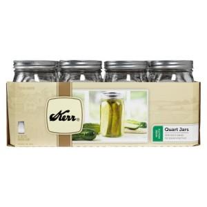Quart Mason Jars