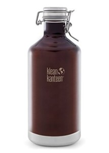 Klean Kanteen 64-Ounce Insulated Growler With Swinglok Cap