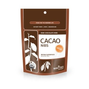 Navitas Naturals Organic Raw Cacao Nibs, 8-Ounce Pouches