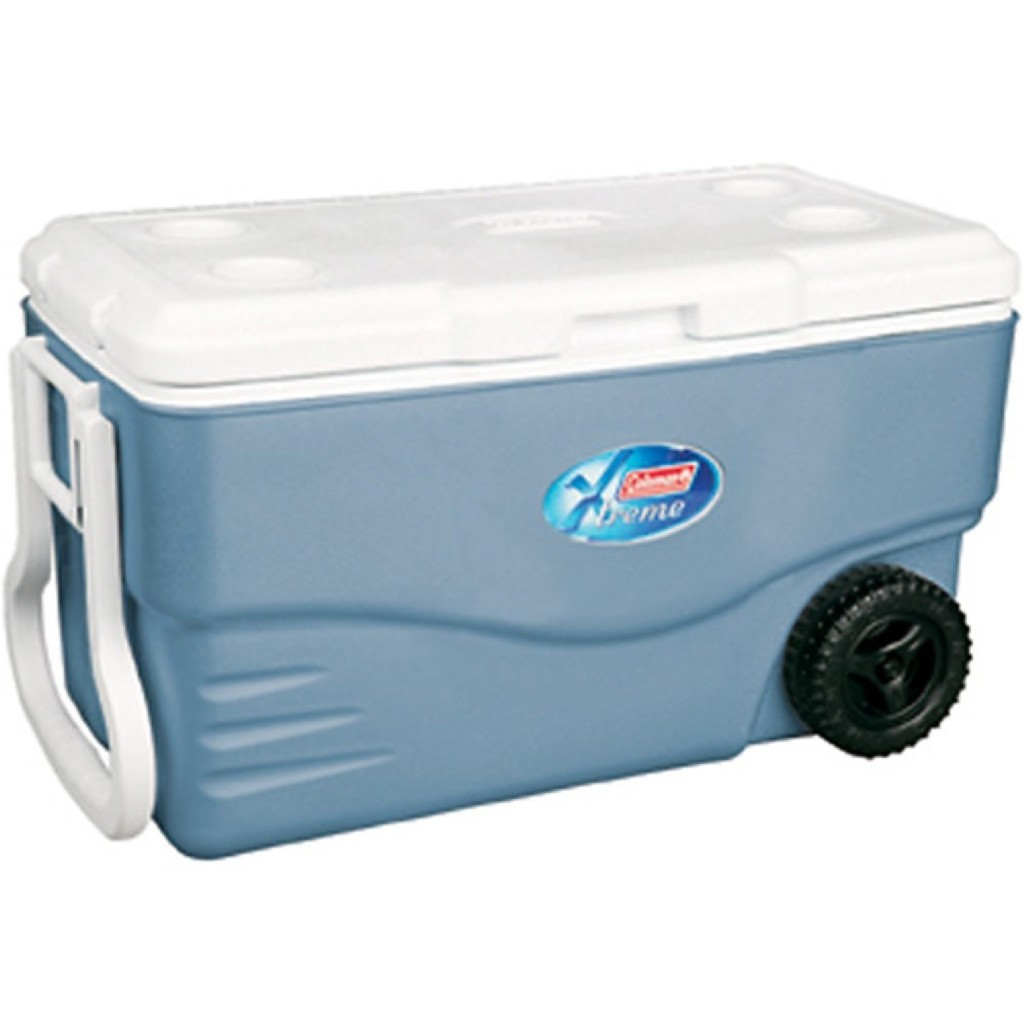 Coleman 100 qt. Xtreme Wheeled Cooler with Tow Handle