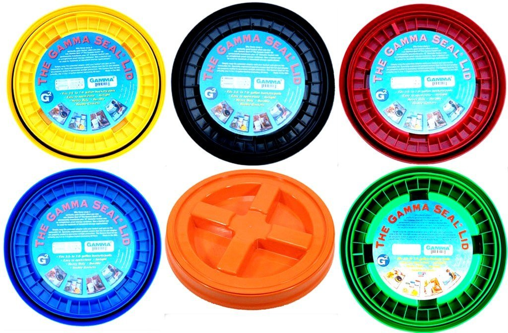 Gamma Seal Lid Variety Pack - 6 Colors