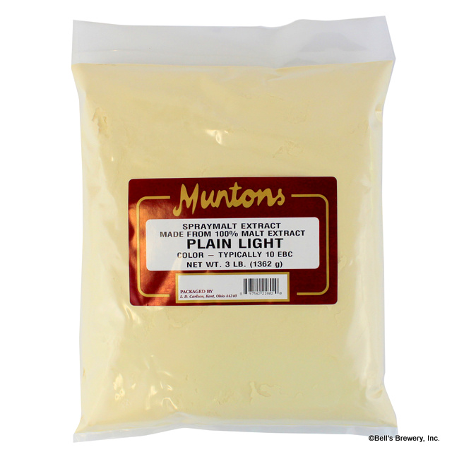 Muntons Plain Light Dry Malt Extract (DME)