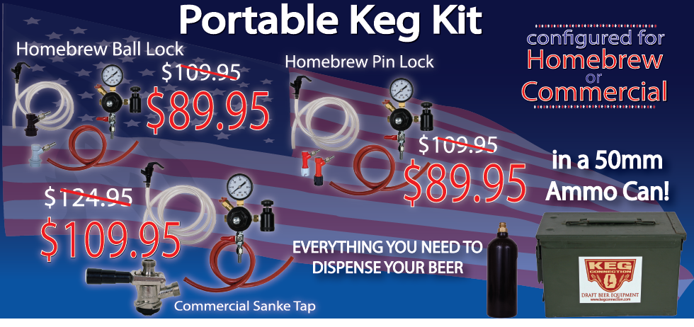 Portable Kegging Kits on Sale at Keg Connection