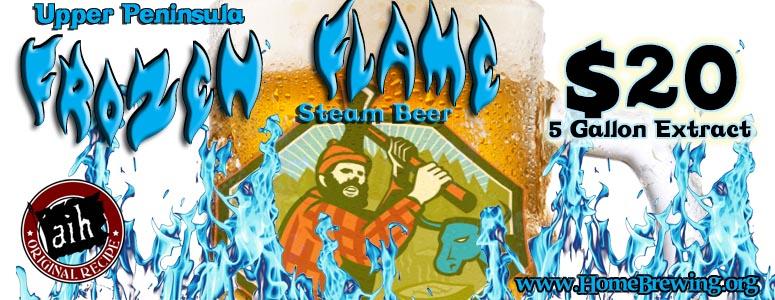AIH Frozen Flame Steam Beer