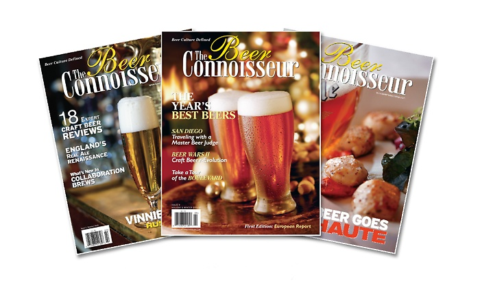 1-Year or 2-Year Subscription to The Beer Connoisseur Magazine