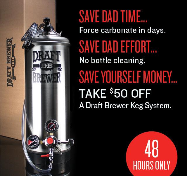 Northern Brewer Draft Brewer Kegging System