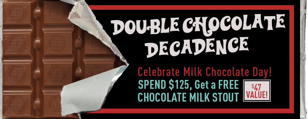 Free Chocolate Milk Stout With Orders Over $125 Northern Brewer Sale