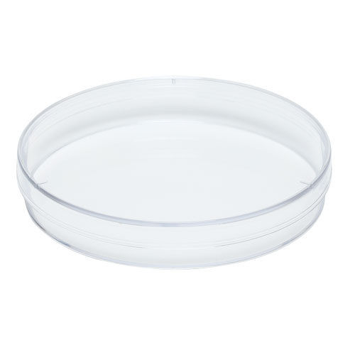 Karter Scientific Plastic Petri Dishes, 60x15mm, 3 Vents, Sterile (Pack of 10)