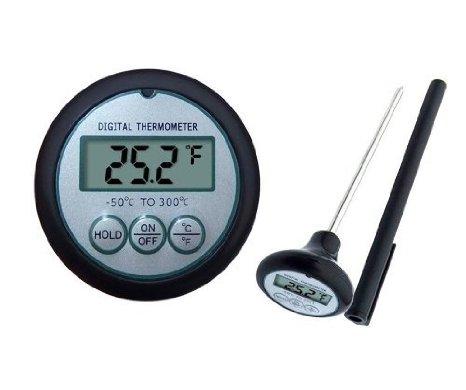 Gogogu Instant-read Digital BBQ Thermometer Kitchen Thermometer Grill Thermometer Food Thermometer