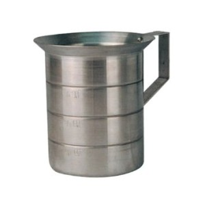 Winware Aluminum Measure 4 Quart