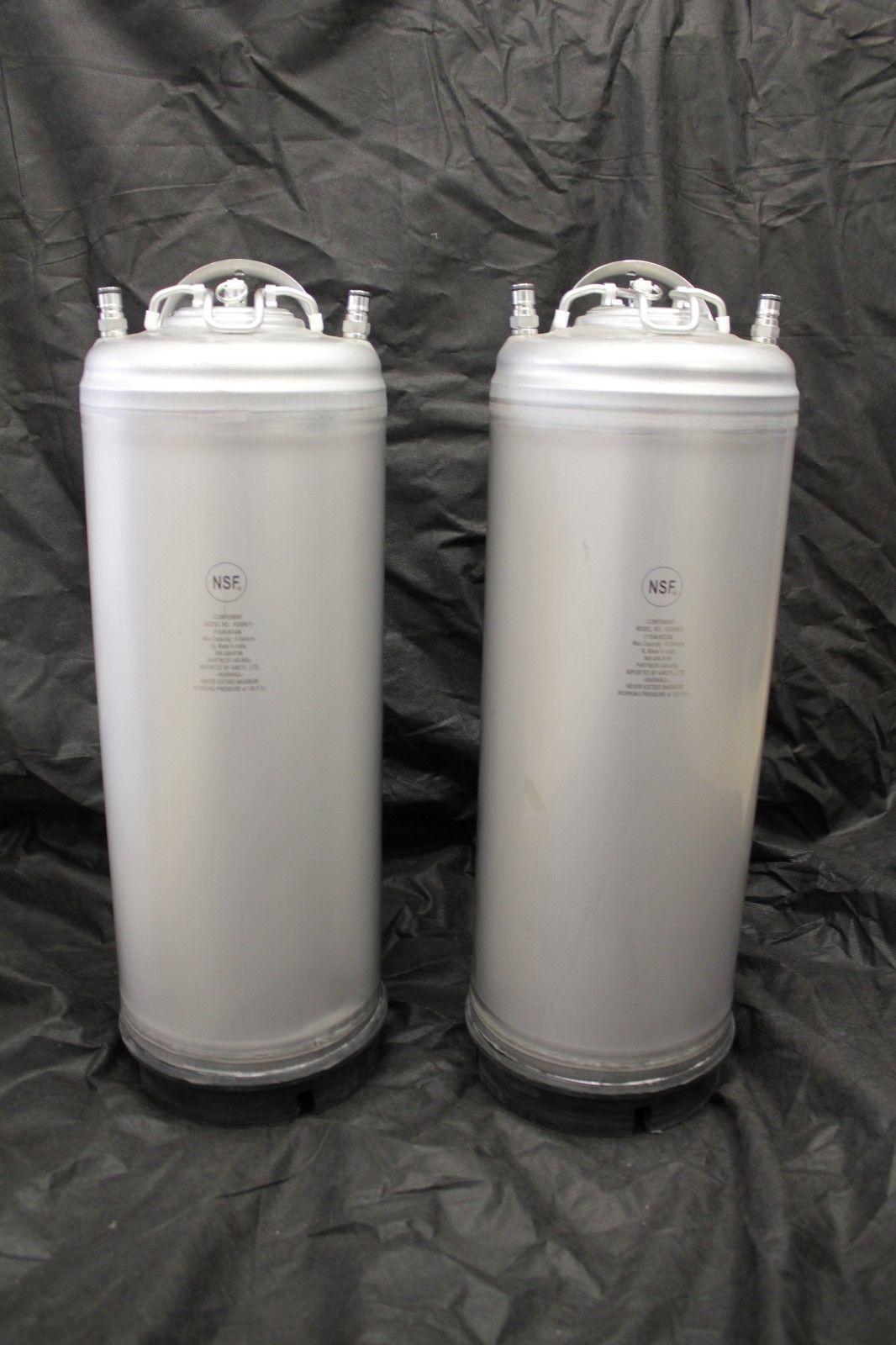 New 5 gallon ball lock corny keg 2 pack NSF approved