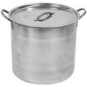 5 gallon 20qt Stainless Steel Home Brewing Kettle Stock Pot with Lid