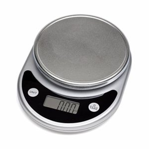Mosiso - Pro Digital Multifunction Kitchen Food Scale, 1g to 11 lbs Capacity, Elegant Black