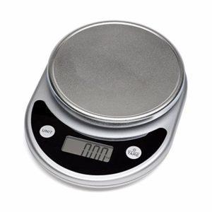Mosiso - Pro Digital Multifunction Kitchen Food Scale, 1g to 11 lbs Capacity, Elegant Black
