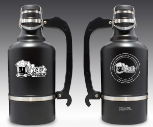 BEERLOVED/DRINKTANKS JUGGERNAUT 128OZ GROWLER W/REGULAR BPA FREE CAP