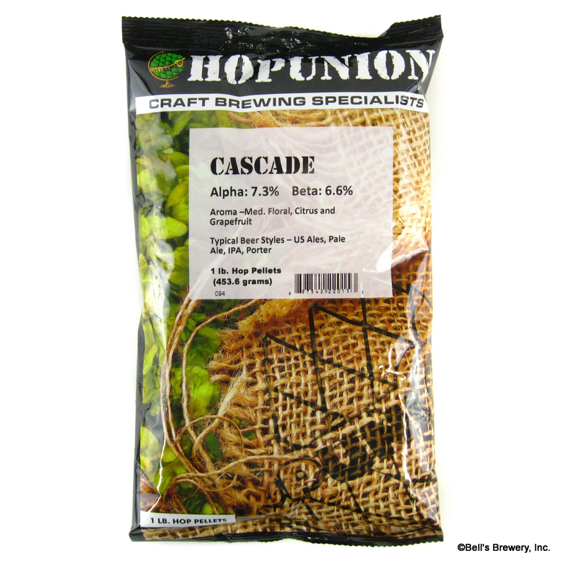 Cascade Hops - 1 lb Pellets