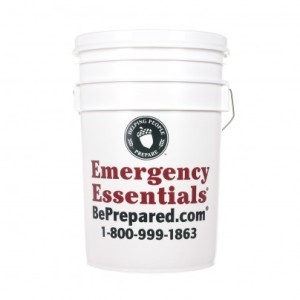 Emergency Essentials Buckets and Gamma Seal Lids