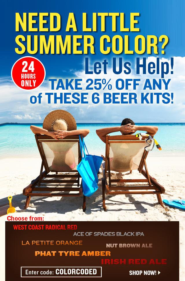 Homebrew beer kit sale