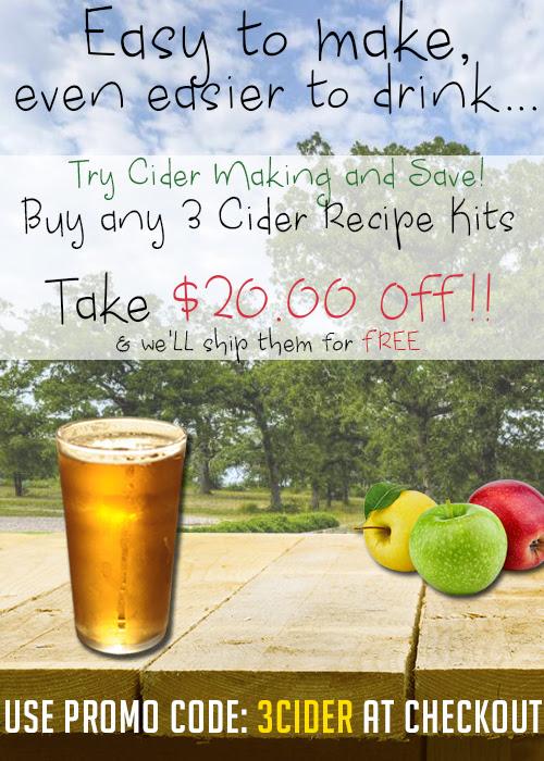 Cider Homebrew Kits