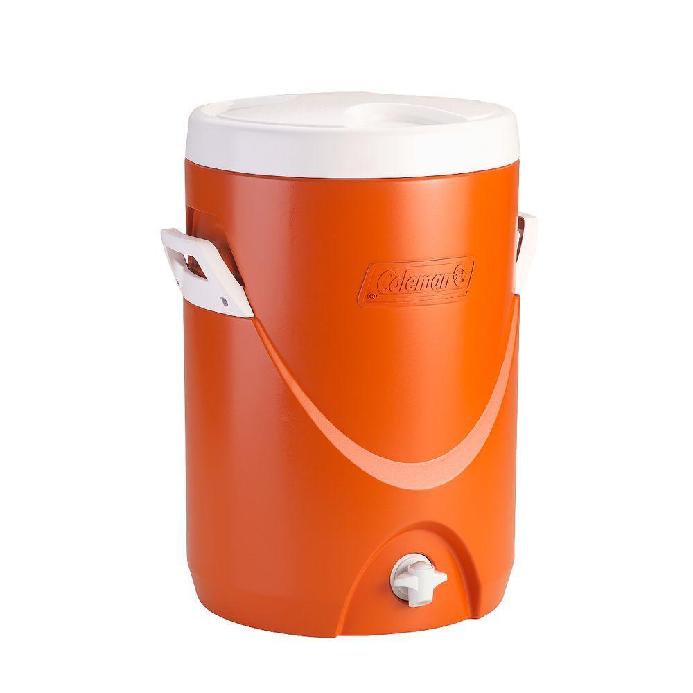 5 gal. Beverage Cooler, Orange