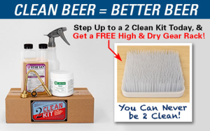 Free High & Dry with Every 2 Clean Kit