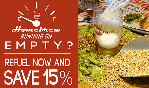 15% Off Recipe Kits at MoreBeer
