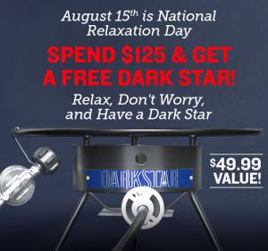 Free Dark Star Propane Burner