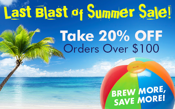 midwest supplies homebrewing sale