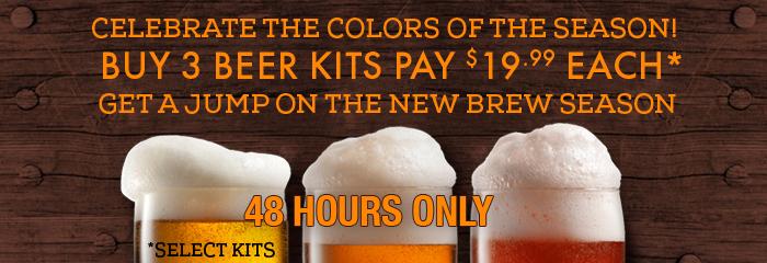 discount homebrew beer kits