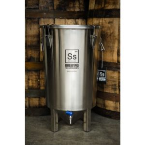 Brew Bucket Stainless Steel Fermenter - 7 gal.