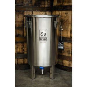 Brew Bucket Stainless Steel Fermenter - 7 gal.