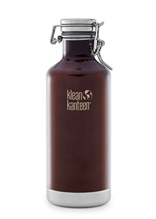 Klean Kanteen 32-Ounce Insulated Growler With Swinglok Cap