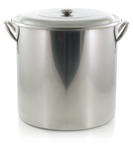 8 Gallon (32 Quart) SS Brew Pot (AIH)