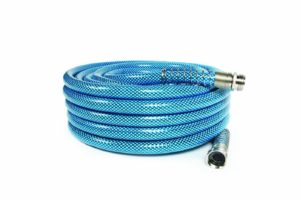 "Camco 50ft Premium Drinking Water Hose - Lead Free, Anti-Kink Design, 20% Thicker Than Standard Hoses (5/8""Inside Diameter) (22853)"