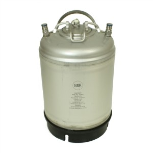 amcyl 2.5 gallon ball lock homebrew keg
