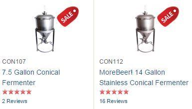 morebeer conical fermenters