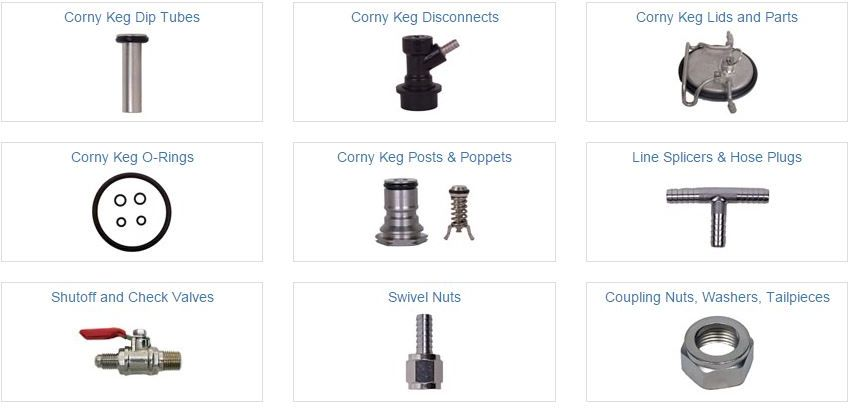 discount corny keg repair parts