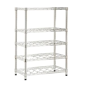 Honey-Can-Do 4-Tier Wine Steel Rack