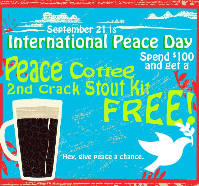 peace coffee stout