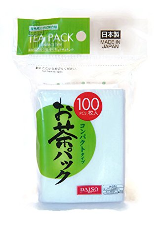 100pcs Disposable Filter Bags for Loose Tea