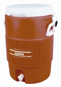 Igloo 5 Gallon Seat Top Beverage Jug with spigot