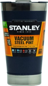 Stanley Classic Vacuum Pint 16oz Hammertone Navy