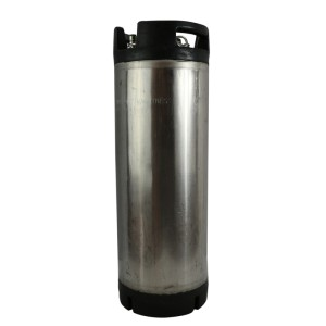 Refurbished 5 Gallon Ball Lock Keg w/ Rubber Handles
