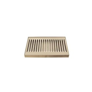 """Deluxe Stainless Drip Tray - 8.25"""" Counter Top"""