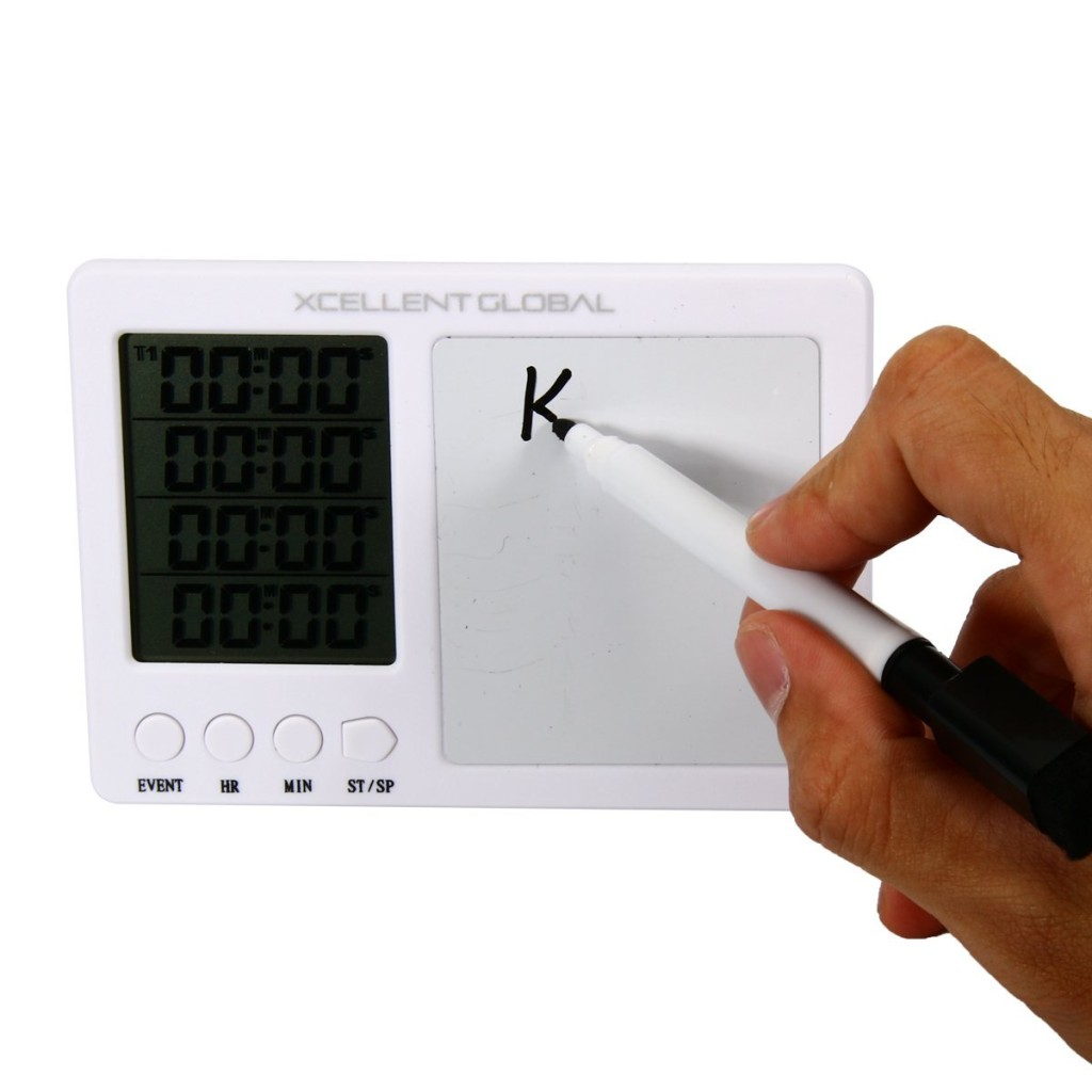 Xcellent Global Magnetic Kitchen Timer with Whiteboard Personal Alert Reminder HG088