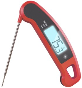 Ultra-High Performance Professional Digital Food/BBQ/Meat Thermometer - Lavatools Javelin PRO® (Chipotle)