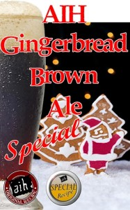 Gingerbread Brown Christmas Spiced Ale Special